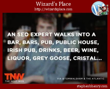 An SEO expert walks into a bar...